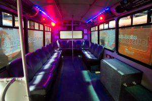 bus 5 interior